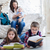 children readind books in living room stock photo © dashapetrenko