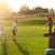 дети · гольф · области · гольф-клубов · закат - Сток-фото © dashapetrenko