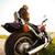 motocicleta · estrada · rural · painel · de · controle · estrada · natureza · bicicleta - foto stock © dashapetrenko