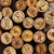 dated wine bottle corks on the wooden background stock photo © dashapetrenko