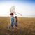 criança · pipa · ilustração · menino · vento - foto stock © dashapetrenko