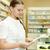 farmacéutico · químico · mujer · prescripción · farmacia - foto stock © dashapetrenko