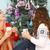 karácsonyfa · kekszek · étel · csillagok · karácsony · édesség - stock fotó © dashapetrenko