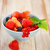 Delicious fresh fruits served in bowl  stock photo © dashapetrenko