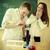 学生 · 科学 · 作業 · 室 · 魅力的な · 笑顔 - ストックフォト © dashapetrenko