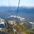 sí · üdülőhely · tél · utazás · hegyek · kék · ég - stock fotó © dashapetrenko
