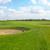 golf · campo · da · golf · rosso · bandiera · montagna · verde - foto d'archivio © dashapetrenko