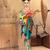 gésa · kimonó · illusztráció · virágok · lány · női - stock fotó © dashapetrenko