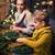 女性 · クリスマス · 花輪 · クローズアップ · 小さな · 白人 - ストックフォト © dashapetrenko