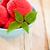 イチゴ · アイスクリーム · 青 · ボウル · 木製のテーブル · 木材 - ストックフォト © dashapetrenko