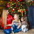hugging mother and daughters christmas happiness concept stock photo © dashapetrenko