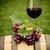 retro · natureza · morta · vinho · tinto · barril · livros · vidro - foto stock © dashapetrenko