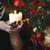 сжигание · свечу · домой · Рождества · время · древесины - Сток-фото © dashapetrenko