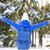 人 · ハイキング · 雪 · 歩道 · 冬 · ハイキング - ストックフォト © dashapetrenko