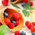frutta · fresca · insalata · gelato · ciliegio · estate · piatto - foto d'archivio © dashapetrenko