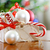 Box with Christmas decorations  stock photo © dashapetrenko