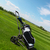 clubes · de · golfe · golfe · grama · verde · grama · verão - foto stock © dashapetrenko