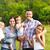 enyém · boldog · család · gyerekek · erdő · boldog · természet - stock fotó © dashapetrenko