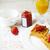 kırmızı · frenk · üzümü · reçel · karpuzu · beyaz · plaka - stok fotoğraf © dashapetrenko