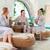 jonge · vrouwen · therapie · massage · dag · spa · resort - stockfoto © dashapetrenko