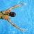 женщину · плаванию · подводного · бассейна · улыбаясь · молодые - Сток-фото © dashapetrenko