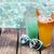 alcohol · cocktails · turkoois · water · voedsel - stockfoto © dashapetrenko