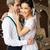 romantische · bruid · bruidegom · buitenshuis · bloemen - stockfoto © dashapetrenko