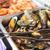 saláta · tányér · kés · szín · citrom · villa - stock fotó © dashapetrenko