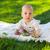 feliz · nino · fruta · fresca · aislado · blanco · cute - foto stock © dashapetrenko