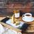 mandula · torta · cukor · házi · készítésű · buli · kávé - stock fotó © dashapetrenko