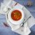 russo · repolho · sopa · verde · casa · carne - foto stock © dashapetrenko