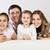 幸せ · 小さな · 家族 · 2 · 子供 · 女性 - ストックフォト © dashapetrenko