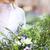 handen · bruid · witte · jurk · bloem · bruiloft - stockfoto © dashapetrenko