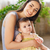 happy smiling mother with eight month old baby stock photo © dashapetrenko