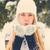 retro · moda · retrato · guantes · ropa - foto stock © dashapetrenko