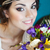 красочный · цветок · таблице · зеленый · свечу - Сток-фото © dashapetrenko