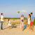pallone · da · spiaggia · cielo · uomo · sport · natura - foto d'archivio © dashapetrenko
