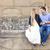 beautiful happy smiling couple embracing stock photo © dashapetrenko