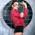punk · dziewczyna · Bańka · guma · różowy - zdjęcia stock © dashapetrenko