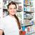 retrato · feminino · farmacêutico · médico · experiente · prescrição - foto stock © dashapetrenko