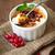 creme · caramelo · ingrediente · comida · madeira · fundo - foto stock © dashapetrenko