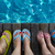zwembad · mooie · paar - stockfoto © dashapetrenko
