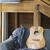 guitarra · foto · objeto · violão - foto stock © dashapetrenko