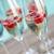 champán · frambuesa · aislado · blanco · fiesta · amor - foto stock © dashapetrenko