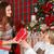 bianco · rosso · Natale · camino · interni · stile · moderno - foto d'archivio © dashapetrenko