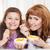 女性 · 食べ · イチゴ · キッチン · 健康 - ストックフォト © dashapetrenko