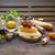 tradizionale · italiana · pane · formaggio · salame · alimentare - foto d'archivio © dashapetrenko