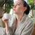 giorno · spa · outdoor · donna · blu - foto d'archivio © dashapetrenko