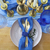 tabel · vintage · stijl · ingericht · kaarsen · gouden - stockfoto © dashapetrenko