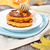 pumpkin pancakes with honey stock photo © dashapetrenko